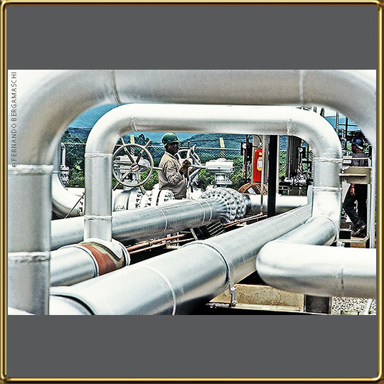 valve in gas pipeline